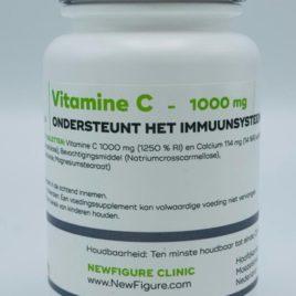 Vitamine C 1000 mg (gebufferde vitamine C) + calcium