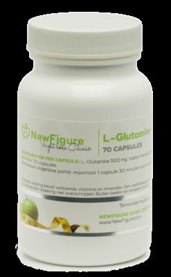 Glutamine voedingssupplementen (70 capsules)