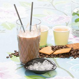 Drank iced cappuccino – PowerSlim
