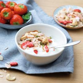 Granola cashew aardbei – PowerSlim
