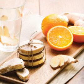 Sinaasappel gember koek – PowerSlim