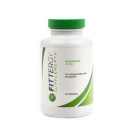 Fittergy Magnesium 200 mg – 90 tabletten