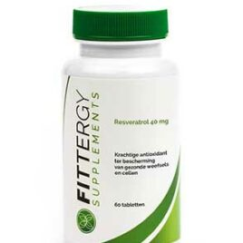 Fittergy Resveratrol 40 mg – 60 tabletten