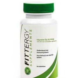 Fittergy vitamine D3 75mcg – 60 tabletten